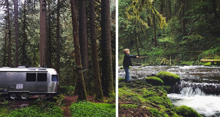 This family sold everything they own to visit 400 national parks in an Airstream Bus https://www.facebook.com/LivingOfftheGrid/posts/933300470055210