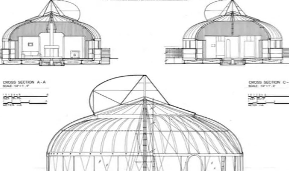 The dymaxion house one of the earliest designs for for Dymaxion house plans